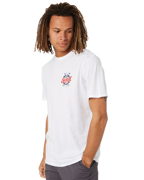 WHITE MENS CLOTHING SWELL TEES - S5222009WHT