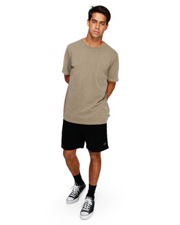 CADET GREEN MENS CLOTHING RVCA TEES - RV-R181066-CDG