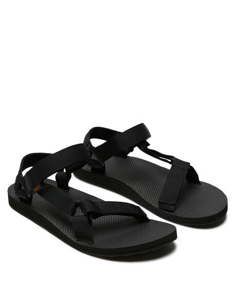 BLACK MENS FOOTWEAR TEVA THONGS - T1004010BLK