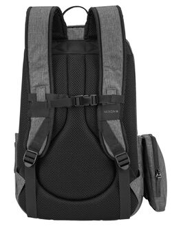 BLACK MENS ACCESSORIES NIXON BAGS + BACKPACKS - C2950000