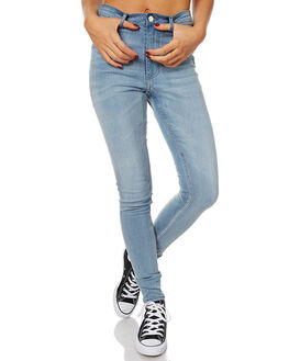 POWDER BLUE WOMENS CLOTHING CHEAP MONDAY JEANS - 0433744POW