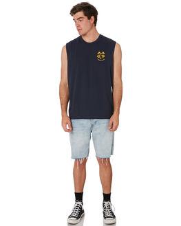 COAL MENS CLOTHING DEUS EX MACHINA SINGLETS - DMP91140BCOAL