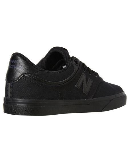 BLACK KIDS BOYS NEW BALANCE SNEAKERS - YS255BBBBLK
