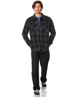 ASPHALT BLACK MENS CLOTHING VOLCOM JACKETS - A4831805ASB