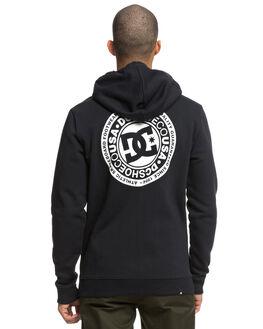 BLACK MENS CLOTHING DC SHOES JUMPERS - EDYSF03174KVJ0