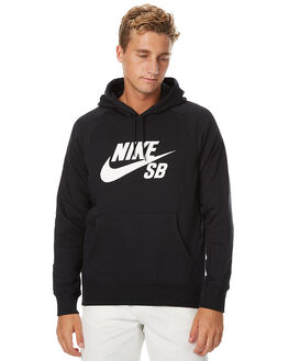 BLACK MENS CLOTHING NIKE JUMPERS - 846886010