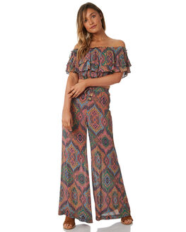 MULTI WOMENS CLOTHING TIGERLILY PANTS - T382373MUL