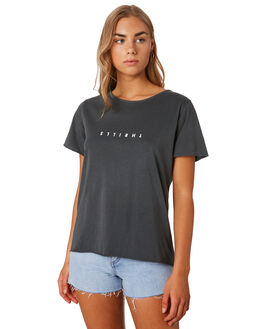 MERCH BLACK WOMENS CLOTHING THRILLS TEES - WTS9-100MBBLK