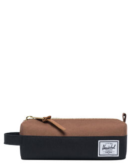 BLACK SADDLE BROWN MENS ACCESSORIES HERSCHEL SUPPLY CO OTHER - 10071-02462-OSBSB