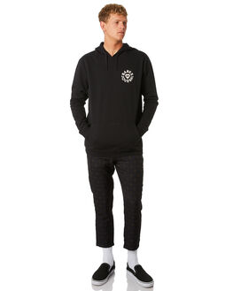 DIRTY BLACK MENS CLOTHING BANKS JUMPERS - WFL0207DBL