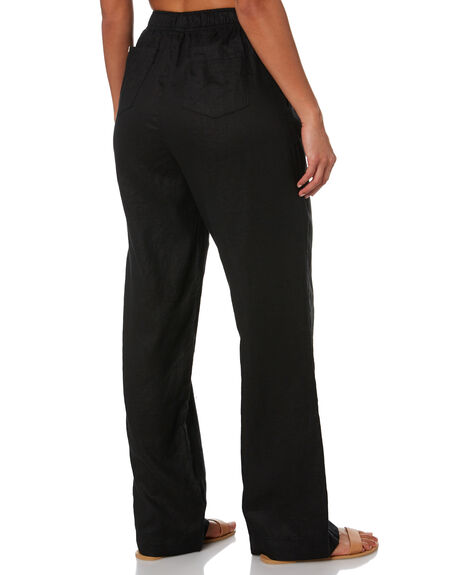 BLACK WOMENS CLOTHING NUDE LUCY PANTS - NU23971BLK