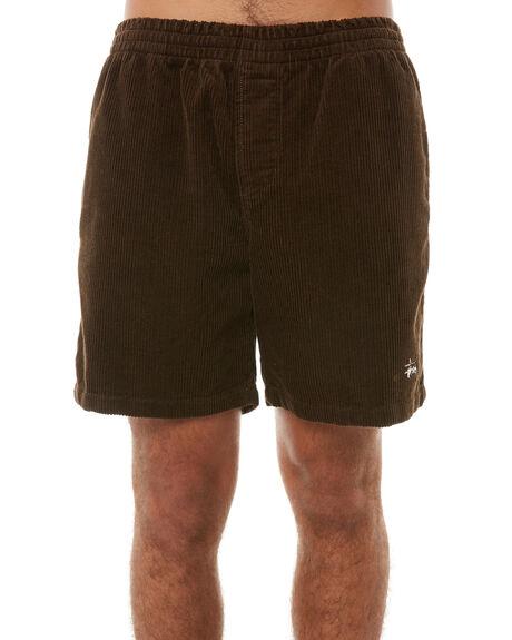 BROWN MENS CLOTHING STUSSY SHORTS - ST081601BRN