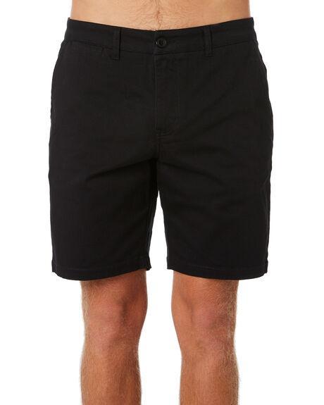 BLACK MENS CLOTHING DEPACTUS SHORTS - D5184241BLACK