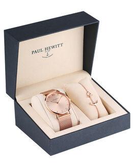 ROSE SUNRAY WOMENS ACCESSORIES PAUL HEWITT WATCHES - PH-PM-1RSESU