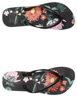 BLACK WOMENS FOOTWEAR BILLABONG THONGS - 6681805BLK