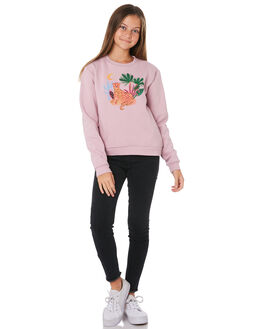 LILAC KIDS GIRLS SWELL JUMPERS + JACKETS - S6194544LILAC
