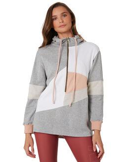 GREY BLUSH WOMENS CLOTHING ARCAA MOVEMENT ACTIVEWEAR - AM7008GRYB