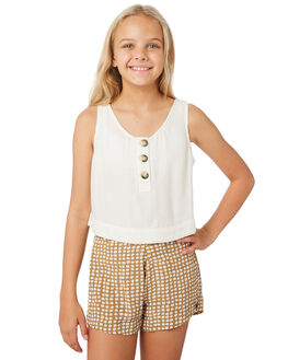 OFF WHITE KIDS GIRLS RIP CURL TOPS - JSHAM10003
