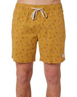 GOLD MENS CLOTHING BANKS BOARDSHORTS - BS0160_GLD