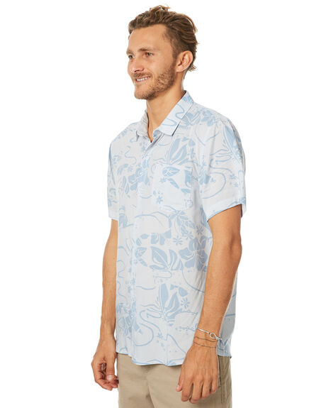 LIGHT BLUE OUTLET MENS SWELL SHIRTS - S5173176LTBLU