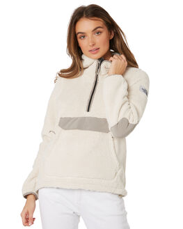 VINTAGE WHITE GREY WOMENS CLOTHING THE NORTH FACE JUMPERS - NF0A39MR9LM