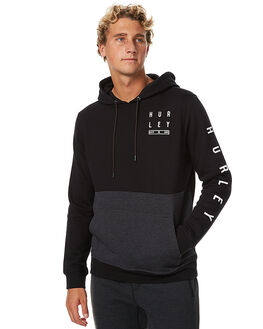 BLACK MENS CLOTHING HURLEY JUMPERS - AMFLTDL00A