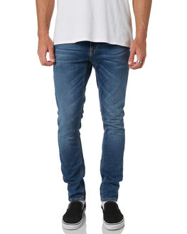 MID BLUE ECRU MENS CLOTHING NUDIE JEANS CO JEANS - 113135MBE