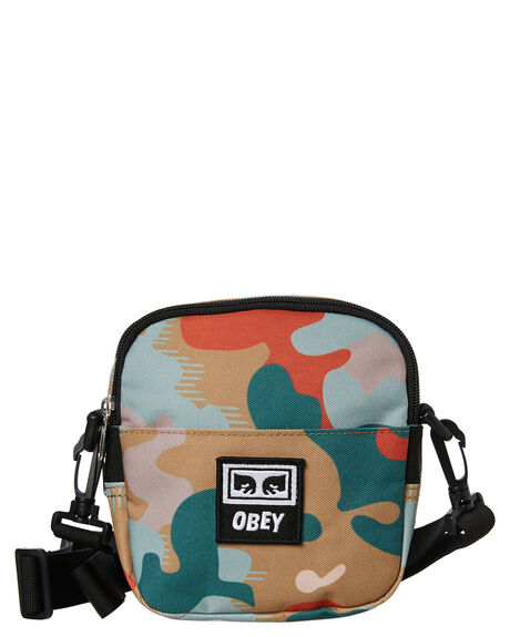 DRIP CAMO MENS ACCESSORIES OBEY BAGS + BACKPACKS - 100010094DRP