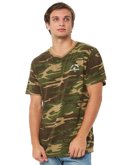 CAMO MENS CLOTHING THRILLS TEES - TA8-101ZCAMO