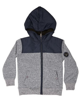 BLUE NIGHTS KIDS TODDLER BOYS QUIKSILVER JUMPERS - EQKFT03233BST0
