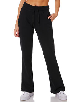 BLACK WOMENS CLOTHING SWELL PANTS - S8189554BLACK