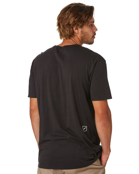 BLACK MENS CLOTHING STACEY TEES - STTBOXBLK