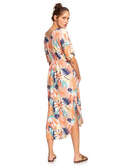 PEACH BLUSH WOMENS CLOTHING ROXY DRESSES - ERJWD03428-MDT8