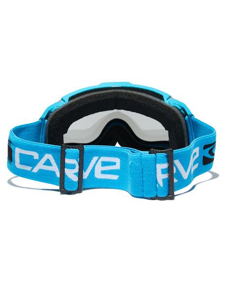 CYAN GREY BOARDSPORTS SNOW CARVE GOGGLES - 6054CYAGR