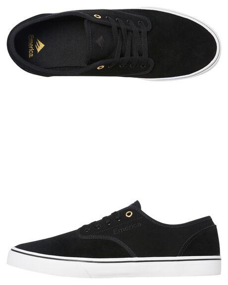 BLACK MENS FOOTWEAR EMERICA SNEAKERS - 6101000118715