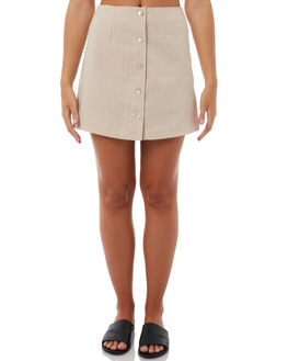 NATURAL WOMENS CLOTHING SWELL SKIRTS - S8182472NATRL