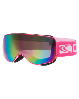 PINK PINK REVO BOARDSPORTS SNOW CARVE GOGGLES - 6085PNK
