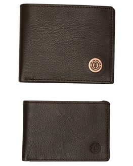 CHOCOLATE MENS ACCESSORIES ELEMENT WALLETS - 183573ACHOC