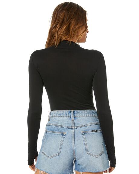 BLACK WOMENS CLOTHING SNDYS FASHION TOPS - SEB018BLK