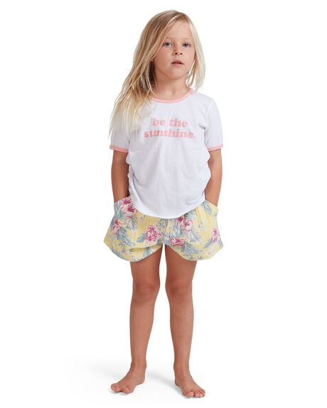 YELLOW KIDS GIRLS BILLABONG SHORTS + SKIRTS - 5513344-YLW