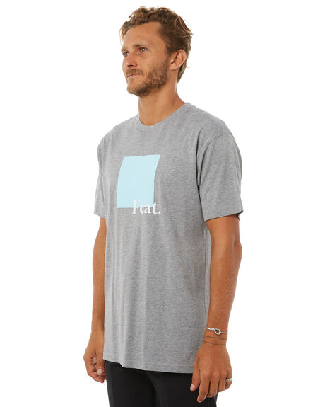 GREY MARLE OUTLET MENS FEAT TEES - FTTABST01GRYM