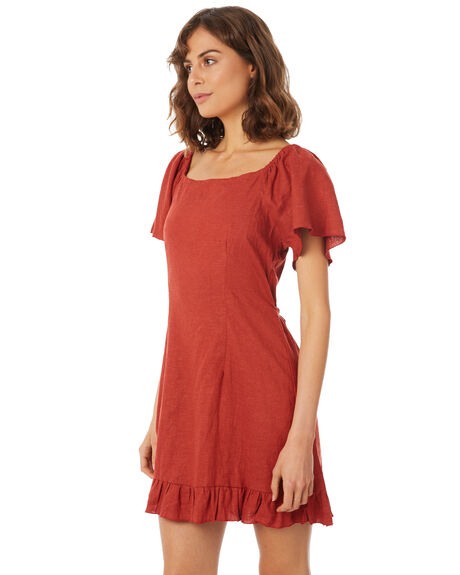 CANYON RED OUTLET WOMENS RUE STIIC DRESSES - SA18-15-CR-L-CAN