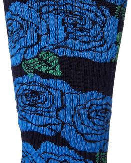 BLUE MENS CLOTHING HUF SOCKS + UNDERWEAR - SK00327-BLUE
