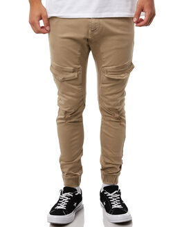 OXFORD TAN MENS CLOTHING NENA AND PASADENA PANTS - NPMFP004OTAN