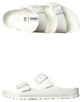 62087748c50f11 WHITE WOMENS FOOTWEAR BIRKENSTOCK FASHION SANDALS - 129443WHI