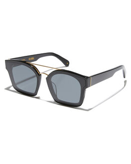 GLOSS BLACK GOLD WOMENS ACCESSORIES OSCAR AND FRANK SUNGLASSES - 018TOBLG