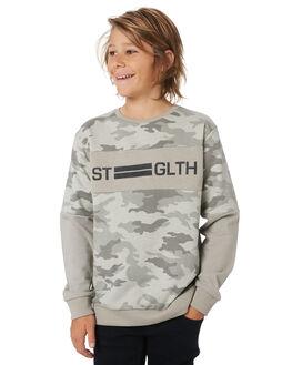 CAMMOFLAUGE KIDS BOYS ST GOLIATH JUMPERS + JACKETS - 2433021CAMO