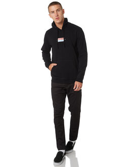 BLACK MENS CLOTHING RVCA JUMPERS - R193154BLK