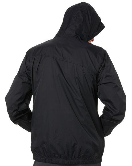 BLACK MENS CLOTHING VOLCOM JACKETS - A15117G0BLK