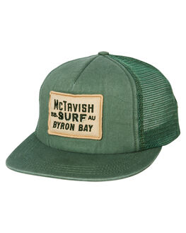 EVER GREEN MENS ACCESSORIES MCTAVISH HEADWEAR - MS-19HW-01YVBLU